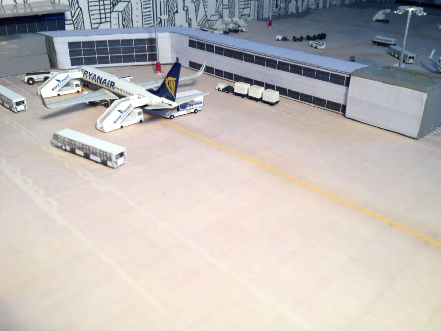 Miniature Bristol Airport Bristol Airport Spotting