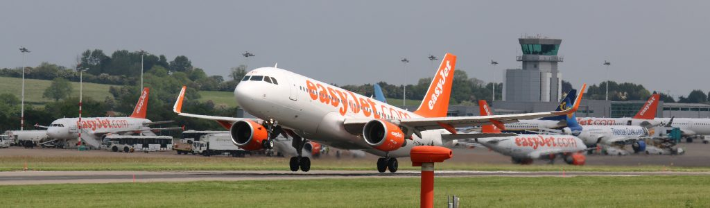 Bristol Airport celebrates record month of passengers travelling through the airport
