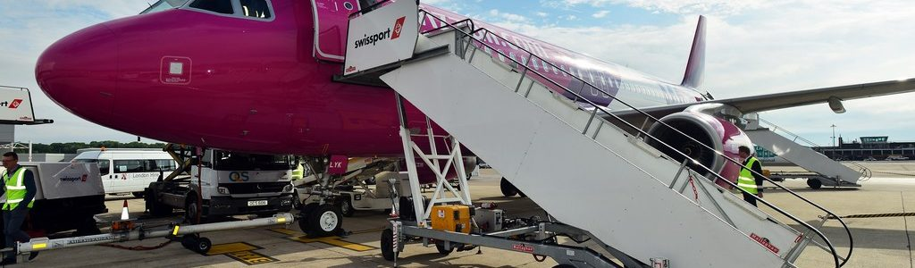 Wizz Airs first flight from Sofia to Bristol