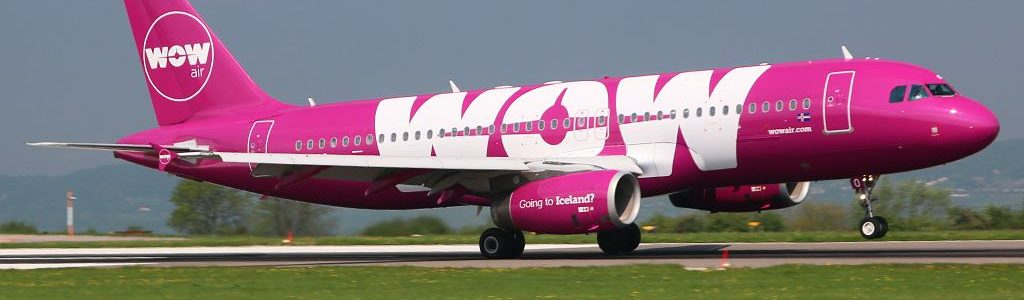 WOW Air arrives at Bristol Airport