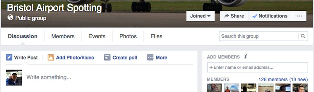 New Facebook presence launched