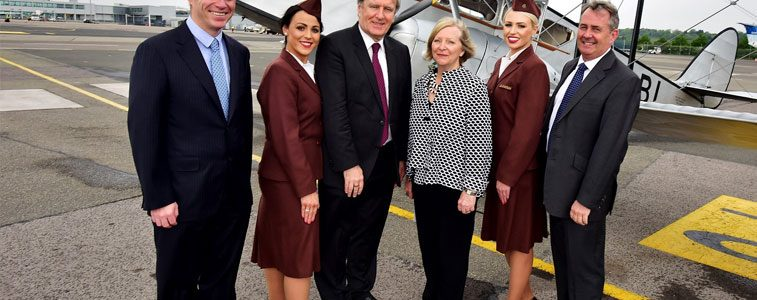 Bristol Airport and Aer Lingus mark 80th anniversary