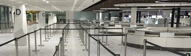 Second phase of terminal extension opens