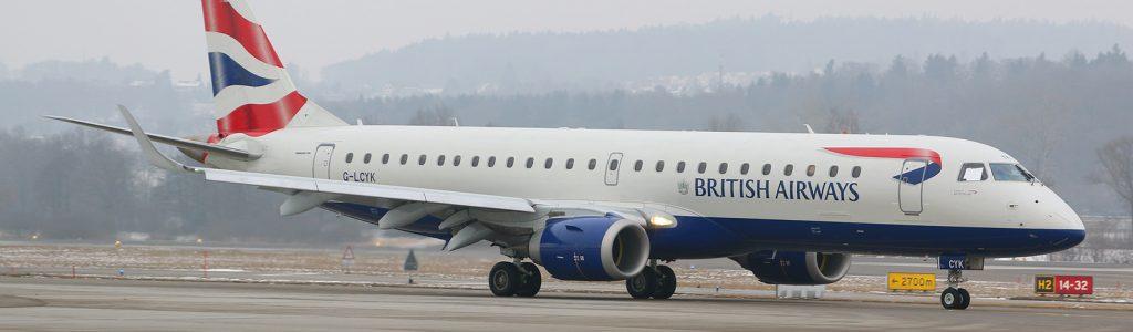 British Airways first flights take off from Bristol Airport