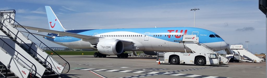 First TUI Boeing 787-9 flight operates from Bristol Airport