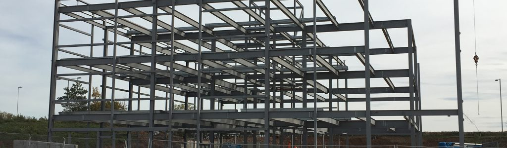 New administration building at Bristol Airport takes shape