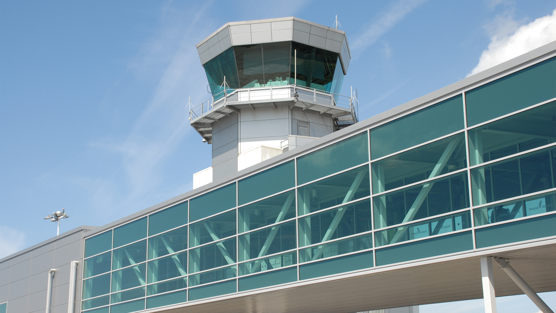 Bristol Airport Air Traffic Control Tower