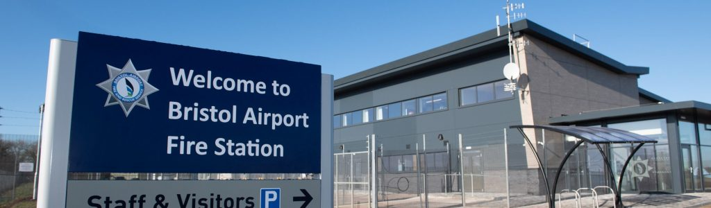 New fire station handed over to Bristol Airport