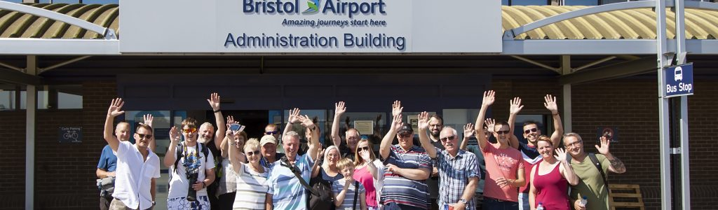 Bristol Airport spotters day a great success